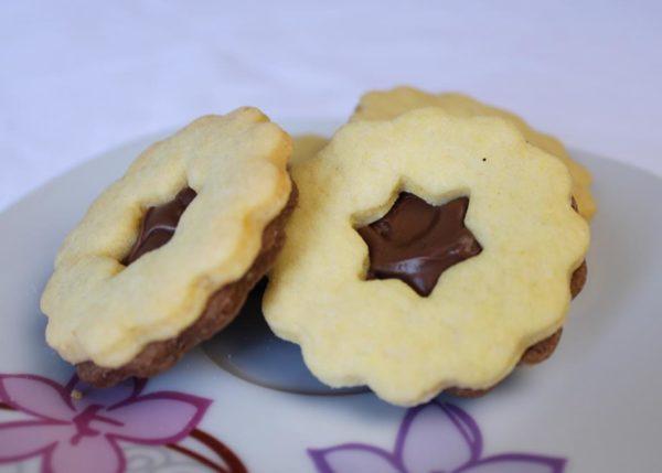 Čajni keksi s čokoladom - Sandra Slastice 1
