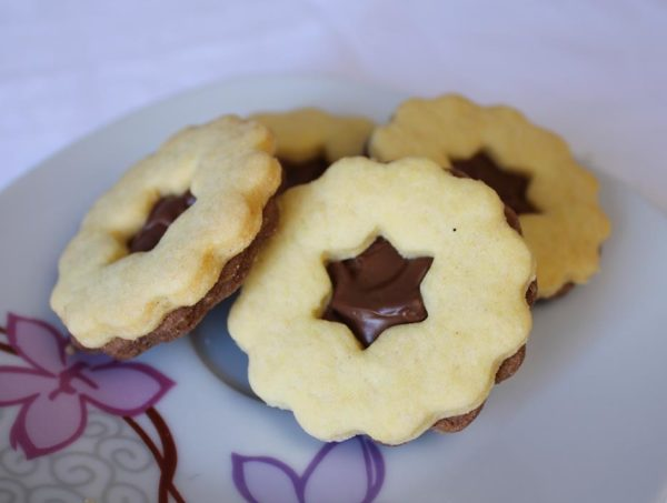 Čajni keksi s čokoladom - Sandra Slastice 2